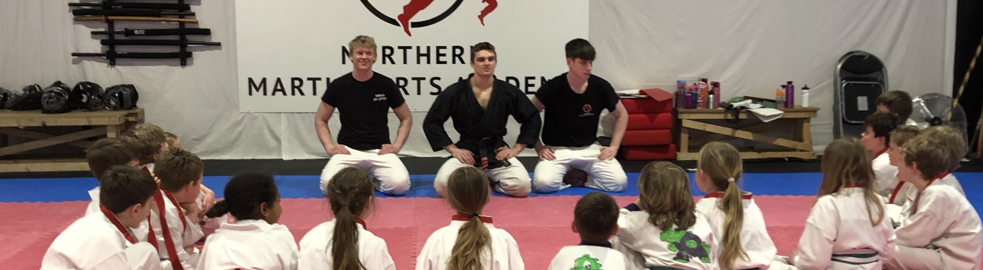 Martial arts for children and their friends